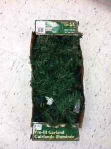 Danson Decor 9 Prelit Canadian Pine Garland X85571 Christmas Xmas 35