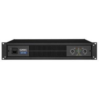 QSC CX602V Two Channel Power Amplifier 550 Watts Chan 8 ohms 440 Watts