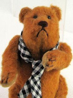 Spiegel Artist Teddy Bear Articulated Darin Small with Tie