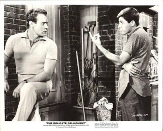 Jerry Lewis Darren McGavin The Delicate Delinquent