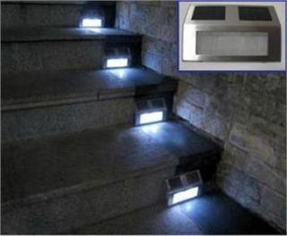 LED Light Pathway Path Step Stair Light Fence Garden Lamp