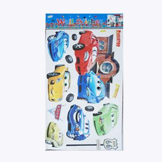 Decorative Pixar Cars Wall Sticker Decal Sticker Wall Deco Sticker