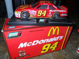 McDonalds Bill Elliott1 18 Nascar diecast car Ford Thunderbird Revell