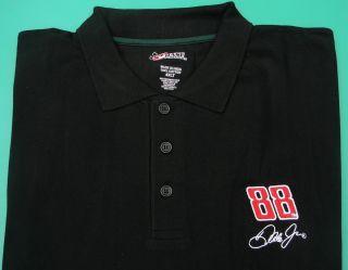 Dale Earnhardt Jr #88 Chase Black Polo/Golf Shirt 3XLT New XXXLT TALL
