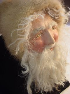Norma Decamp Santa Head Body Fur German Paper Mache Boots A Kit The