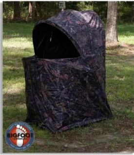 New 1 Man Camo Photo Deer Turkey Hunting Ground Blind
