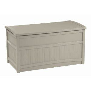 New 50 Gallon Outdoor Patio Deck Storage Box Bench Seat