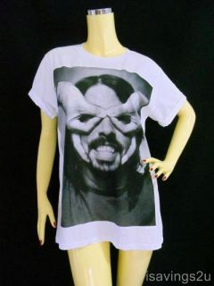 Dave Grohl T Shirt Foo Fighters Grunge White s M or L