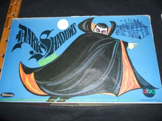Dark Shadows Board Game Whitman TV Vintage Dan Curtis Vampire