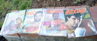 1969s 70s The Ring Boxing Magazine Lot Ali Louis 38