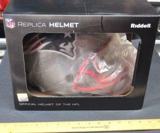 Deion Branch Autograph Hand Signed Full Size Replica Helmet Patriots