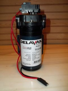 Delavan PowerFlo Diaphram Pump Model 7812 201 BB /2.0 GPM/ 112 VDC/ 60