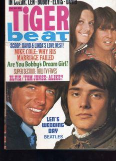 1969 Elvis Tom Jones Jack Wild Jonathan Frid David Selby