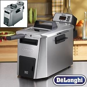 DeLonghi Dual Zone Deep Fryer Easy clean Oil Draining System