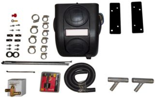 UTV Cab Heater with Defrost Kit for Polaris Ranger RZR 2008 2012 All