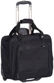 Delsey Helium Superlite Wheeled Tote Bag Luggage Black
