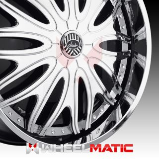 Set of 4 New Davin Spinners Sexclusive 28x10 5x120 127 10 Wheels Rims