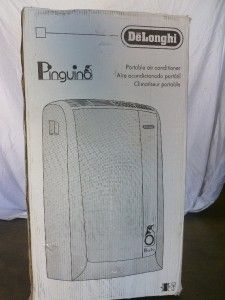 NEW DeLonghi Pinguino 11,500 BTU Portable Room Air Conditioner