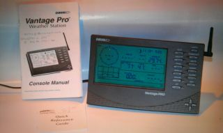 Davis Vantage Pro Weather Station Console
