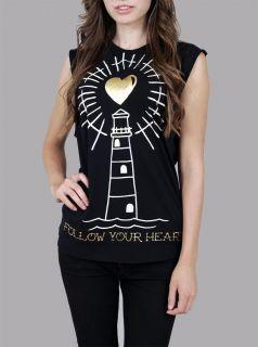 Abbey Dawn Avril Lavigne Rock Star Follow Your Heart Muscle Tank