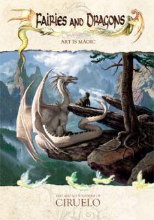 Ciruelo Cabral Hadas Y Dragones Fantasy Art Book