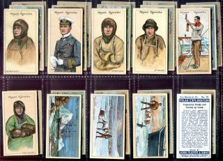 Tobacco Card Set John Player Polar Exploration Arctic Expedition 2nd