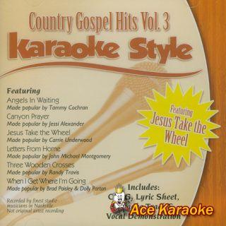Daywind Karaoke Style CDG 9925 Country Gospel Hits Vol3