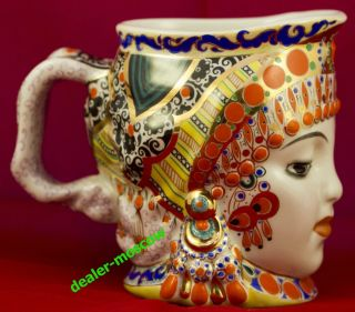 USSR SOVIET RUSSIA Milk 1950s Russian LOMONOSOV LFZ Danko Mug ORIGINAL