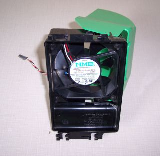 NMB 3612KL 04W B66 DC Brushless Fan Motor Shroud 12V 0 68A