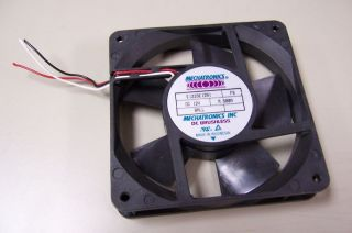 Mechatronics E1225E12B1 12V DC Brushless Fan