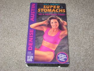 Denise Austin New Super Stomachs and Healthy Back VHS