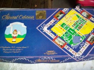 Capital Edition Educational Game Washington DC