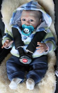 Reborn Baby Boy Doll Irelyn Sculpted by Denise Pratt