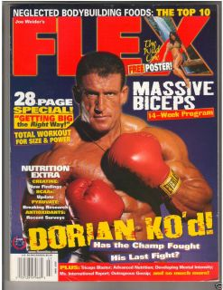 Fitness Magazine Dorian Yates Denise Masino w Poster 7 98