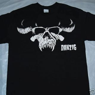 Danzig Horned Skull T Shirt Brand New s M L XL 2XL