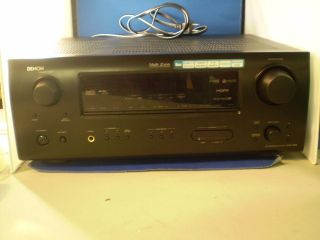 Denon AVR 1508 Dolby Digital EX Decoding A V Receiver NO POWER SOLD AS