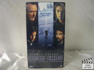 Road Ends VHS Dennis Hopper Mariel Hemingway 757449027739