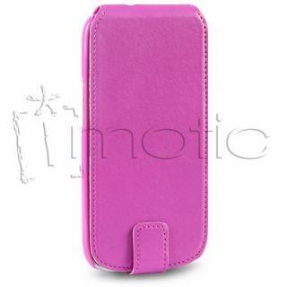 funda de cuero para samsung galaxy s3 i9300 color rosa