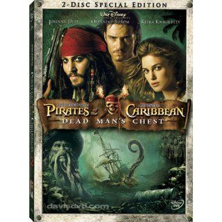 Pirates of the Caribbean Dead Mans Chest DVD 2 Disc Set Widescreen