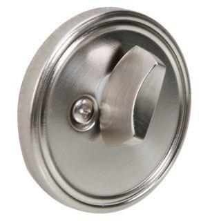 New Satin Nickel Locks Keyed Single Cylinder Deadbolt Door Hardware