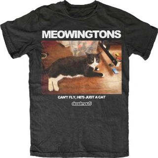 Deadmau5 Meowingtons Cant Fly Hes Just a Cat Mens Shirt 5D114