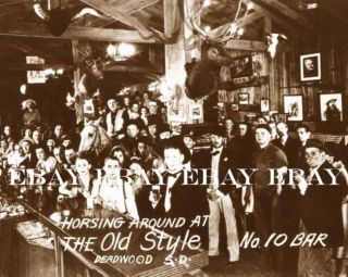 on A Horse Photo No 10 Saloon Bar Deadwood South Dakota SD