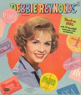 Vntage Debbie Reynolds Paper Dolls Lazer Repro ORG Sze Free SHIP w 2