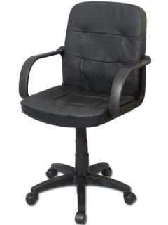 New Black Leather Office Desk or Conference Room Chair