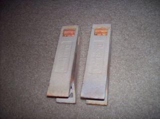 Vintage Dearborn Ceramic Radiants Brick Grate for Gas Heater