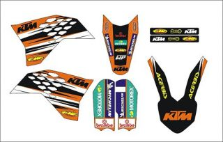 KTM SX 65 2009 2011 Graphics Sticker Decal Kit