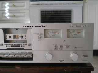 Marantz SD 1000 stereo cassette deck, single tape recorder / player