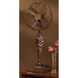 Deco Breeze Cantalonia Decorative Table Top Fan DBF0440
