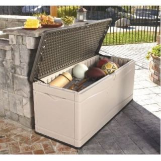 Extra Large Patio Deck Box Locking Outdoor Storage Home Yard And