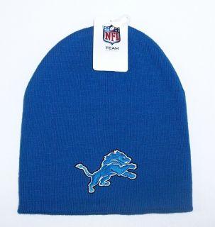 Detroit Lions Knit Beanie Hat Skull Cap NFL